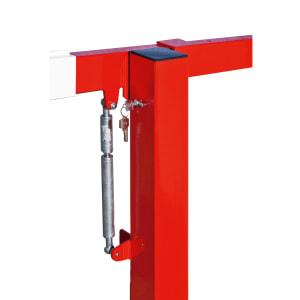 Handschranke COMPACT mit Gasdruckfeder