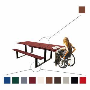 Erholungs-Kombination RIGA - Picknicktisch