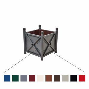 Pflanzenkübel PROVINCE aus Stahl