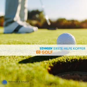 Erste Hilfe Koffer Golf - Söhngen® SPORT