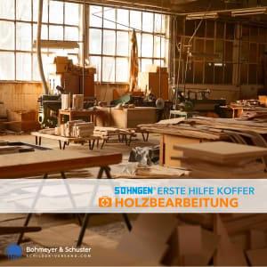 Erste-Hilfe-Koffer Holzbearbeitung DIN 13157 / ASR A4.3 - Söhngen® Beruf Spezial