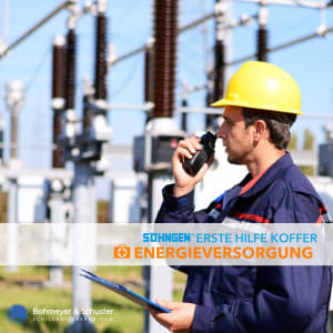 Erste-Hilfe-Koffer Energieversorgung DIN 13157 / ASR A4.3 - Söhngen® Beruf Spezial
