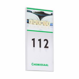 10 x KAIRO Türschild mit Diebstahlsicherung