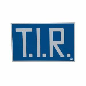 TIR-Schild starr
