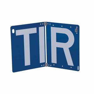 TIR-Schild klappbar