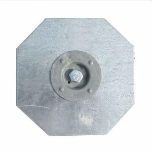 Kreuzklemme für modulare Sicherheitsbodenelemente aus Stahl