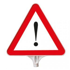 Schilderaufsätze Achtung - Dreieckiges Schild
