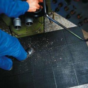 Antirutschmatte / Arbeitsplatzmatte YOGA INDUSTRIE mit geschlossener Oberfläche