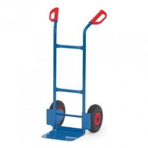 Stahlrohrkarre mit kleiner Schaufel - Tragkraft 200 kg