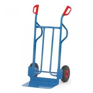 Stahlrohrkarre mit großer Schaufel - Tragkraft 350 kg