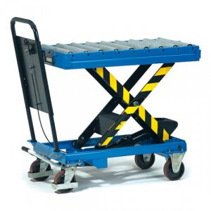 Rollenbahn mit Aufsteckrahmen - Tragkraft 500 kg