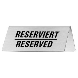 Tischschild - Reserviert/Reserved