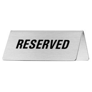 Tischschild - Reserved