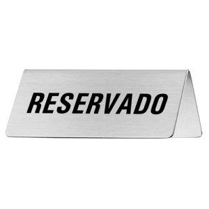 Tischschild - Reservado