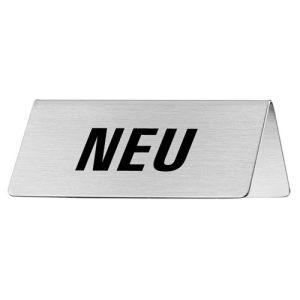 Tischschild - Neu