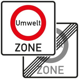 Verkehrsschild Umweltzone - VZ 270.1-40