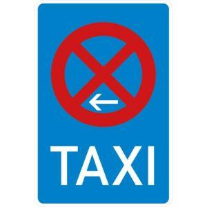Taxistand-Schild VZ 229-11 Taxenstand Ende