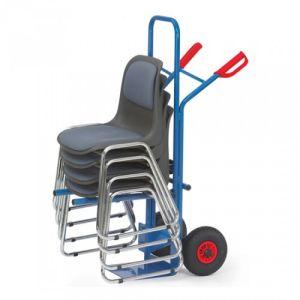 Stuhlkarre mit einhängbarem Traggestell - Tragkraft 300 kg