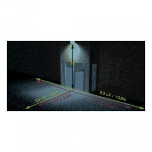 Sicherheitsleuchte MULTI-EXIT mit Notlichtfunktion (Wandaufbau)