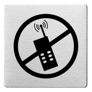 Piktogramm - Handys verboten (ecken abgerundet) Motiv 2