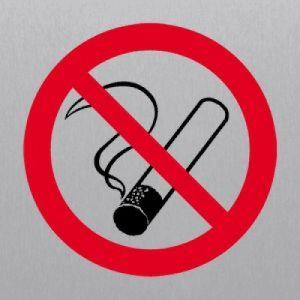 Rauchen verboten eckig