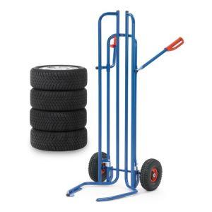 Reifenkarre mit Spreiz-Aufnahmen aus Stahlrohr - Tragkraft 200 kg
