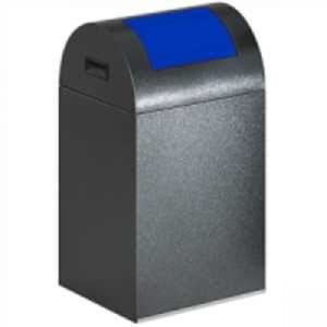 Wertstoffsammler, selbstlöschend, mit selbstschließender Einwurfklappe - Inhalt 43 / 60 / 89 Liter