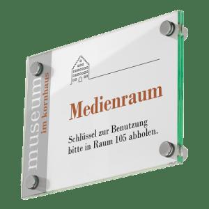 Galerie Türschild