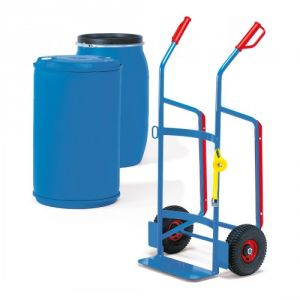 Fasskarre für Kunststofffässer - Tragkraft 250 kg