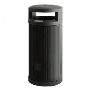 Abfallbehälter mit 2-fach Einwurf - Inhalt 120 Liter