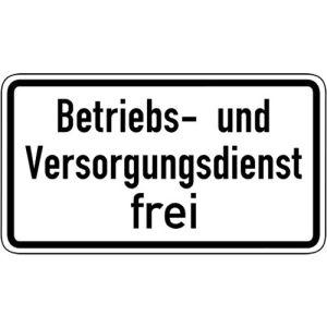 Betriebs- und Versorgungsdienst frei VZ 1026-39