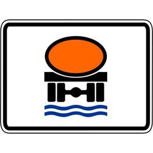 Zusatzzeichen Wassergefährdende Ladung - VZ 1052-31