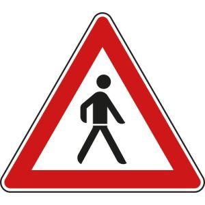 Verkehrsschild Verbot Fußgänger - VZ 133-20