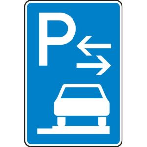 VZ 315-68 Parken auf Gehwegen Schild (Mitte)
