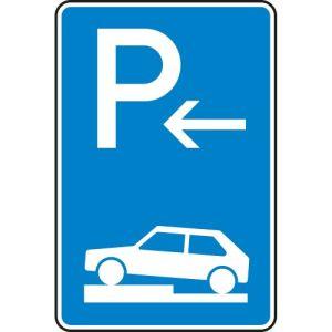 VZ 315-72 Parken auf Gehwegen Schild (Ende)