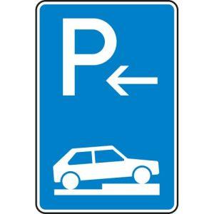 Verkehrszeichen 315-76 Parken auf Gehwegen Schild Anfang