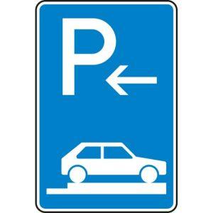 Verkehrszeichen 315-86 Parken auf Gehwegen Schild Anfang