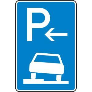Verkehrszeichen 315-51 Parken auf Gehwegen Schild Anfang
