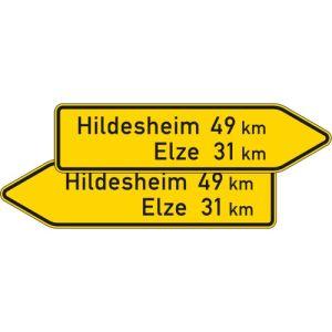 VZ 418-40 Pfeilwegweiser sonstige Straßen