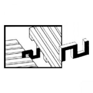 Verbindungsclips Seite/Ende für YOGA ROLL