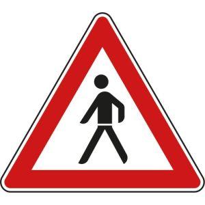 VZ 133-10: StVO-Verbotsschild Fußgänger