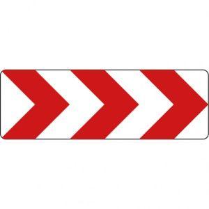 VZ 625-20 Richtungstafeln in Kurven rechtsweisend