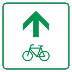 Radwegschild - Zwischenwegweiser