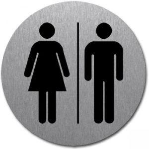 Symbol - WC Damen / Herren (rund)