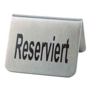 Tischaufsteller - Reserviert (2 Stück)
