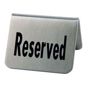 Tischaufsteller - Reserved (2 Stück)