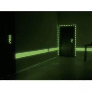Grundierung / Reflexionsschicht für langnachleuchtende Wandfarbe