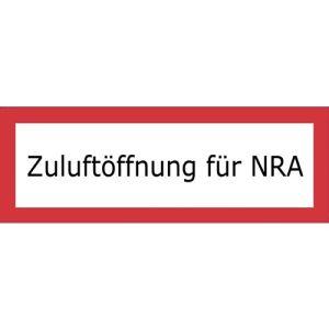 Zuluftöffnung für NRA (Natürliche Rauchabzugsanlage) nach DIN 4066