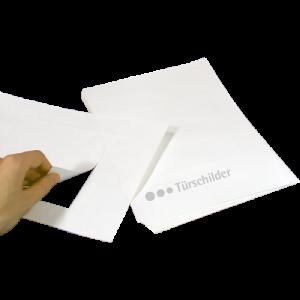 TOPit Transparentfolien für Tischaufsteller