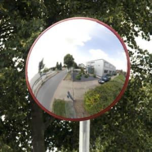 Verkehrsspiegel SUBWAY - Überprüfung von 3 Richtungen